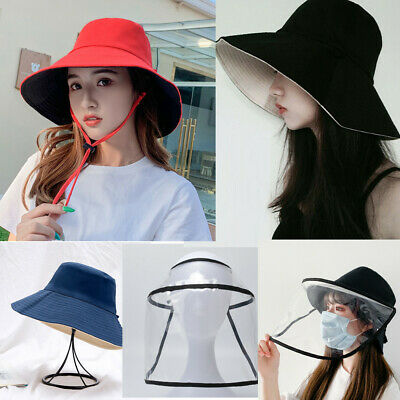 Shield Anti saliva Sun Visor Fisherman Cap Hat Shield Removable Double Sided