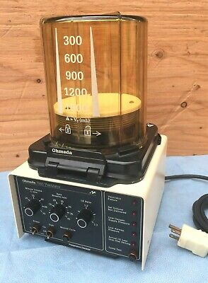 OHMEDA 7000 VENTILATOR, with autoclavable bellows assembly, tested, working