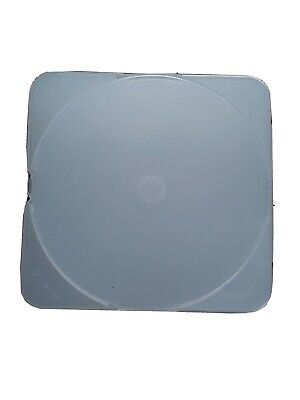 CD Jewel Cases - Standard-Sized, Hard-Plastic, Clean Empty CLEAR - SET OF 8