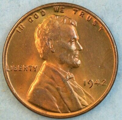 1942 P Lincoln Wheat Cent Great Book Fillers FREE S/&H