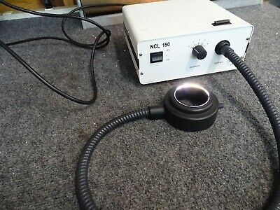Volpi NCL 150 Fiber Optic Illuminator w/ Fiber Optic Ring Light & Power Cord