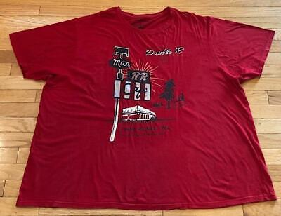 Official Twin Peaks Diner Red T-Shirt Size: LARGE Loot Wear Crate DX Exclusive