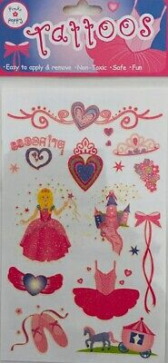 Pink Poppy Assorted Tattoos Ballerina, Butterfly And Fairy To Choose From