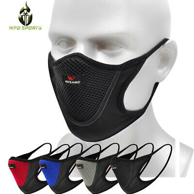 Motorcycle Half Face Face shield Outdoor Cycling Dustproof Scarf with Filter