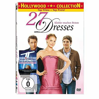 DVD 27 Vestidos Katherine Heigl Ed Burns Malin Akerman James Marsden Comedia
