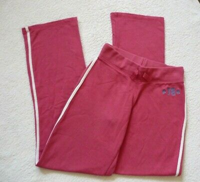 M&S Girls Soft Warm Pink Jogging Bottoms Tracksuit Trousers 14 years