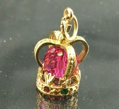 9ct GOLD CHARM - CROWN - 2.59 gram  - Good collectable