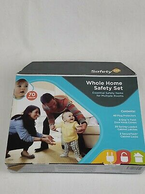 Safety 1st Whole Home Safety Set 70 Pieces New in Box Sealed