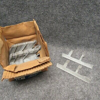 Madison Hold-It # 102 (70) Pairs Switch Box Supports Galvanized New NOS