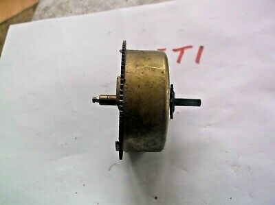 Made In China Mainspring Barrel  From An Old   Wall Clock  Ref T1