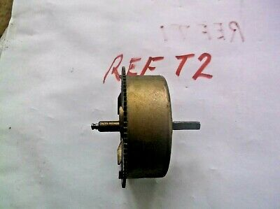 Made In China Mainspring Barrel  From An Old   Wall Clock  Ref T2