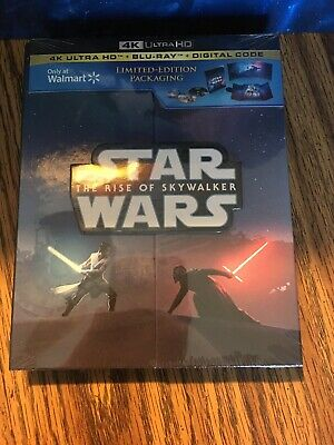 Star Wars Rise of Skywalker (4K Ultra HD/Bluray/Digital Code)  Limited Edition