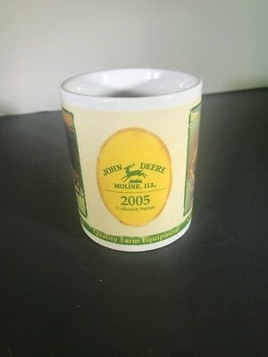 John Deere Moline ILL 2005 Collector Series Coffee Tea Mug