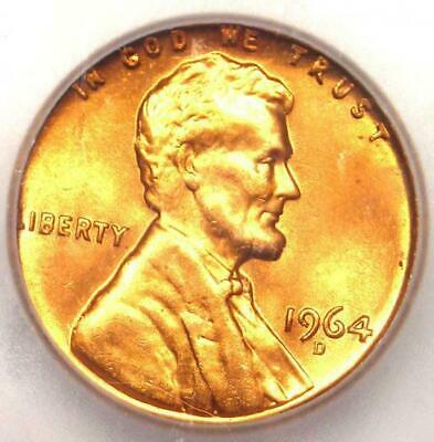 1964-D Lincoln Memorial Cent Penny 1C - Certified ICG MS67 RD - Rare in MS67!