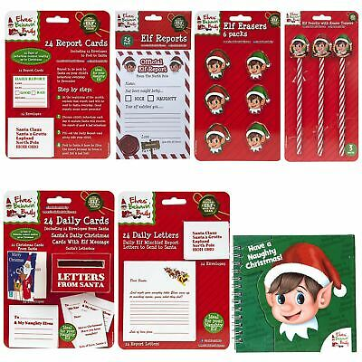 Christmas Decoration Elves Behaving Badly Naughty Bunting Cute Party Stationary