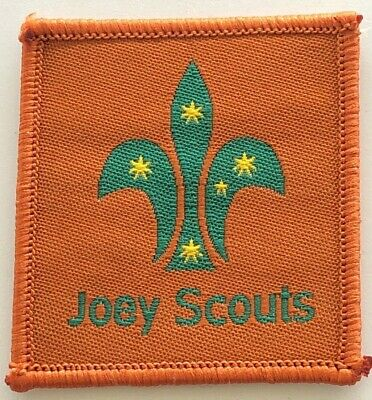 Joey Scout Leader Badge - old Scouts Australia logo - Uniform shoulder patch tab