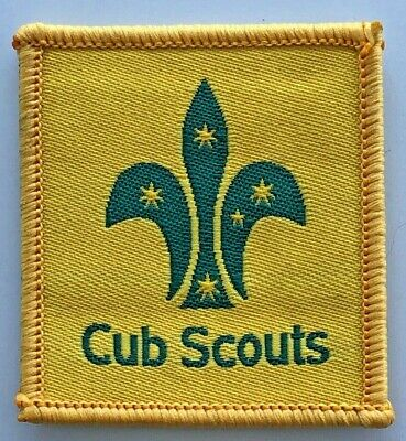Cub Scout Leader Badge - old Scouts Australia logo - Uniform shoulder patch tab