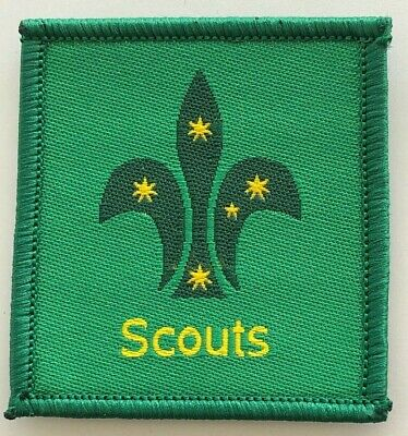 Scout Leader Badge - old Scouts Australia logo - Uniform shoulder patch tab