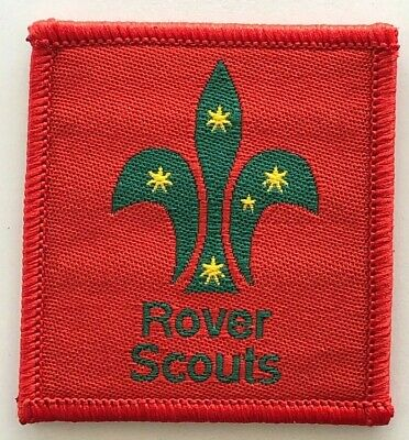 Rover Scout Leader Badge - old Scouts Australia logo - Uniform shoulder patch