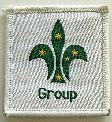 Group Leader - Scout Badge - old Scouts Australia logo - Uniform shoulder patch