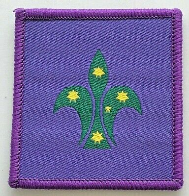 Scout Commissioner Badge - old Scouts Australia logo - Uniform shoulder patch