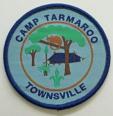 Camp Tarmaroo Badge - Townsville Scout Campsite - North Queensland, Australia