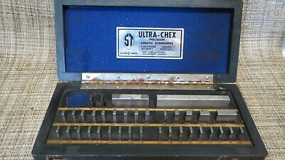 Vintage Gage Block Set, Sheer Tumico Co., 36 pc, ULTRA CHEX INSPECTOSET