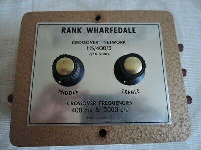 Vintage Rank Wharfedale Crossover Network HS 400 3 #3