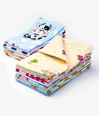 Large New Muslin Squares 70x80cm 100% Cotton Nappies