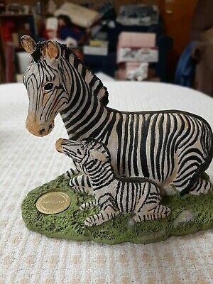 William Holden Wildlife Collection, Limited Edition Zebra Family 3181/9500