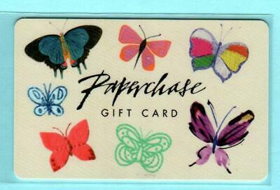 PAPERCHASE Butterflies 2015 Gift Card $0 UK