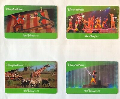 4 Walt Disney World Park Hopper Passes