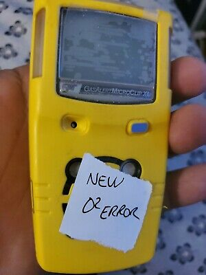 BW Technologies Gas Alert MicroClip XL Multigas Gas Detector Monitor calibrated