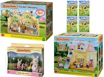 Sylvanian Families Baby Castle Forest Nursery Babies Ride and Play