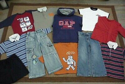 Boys Bundle of Clothes Jeans Polo Shirts T Shirts Hoodie Hooded Jumper 4-5 years
