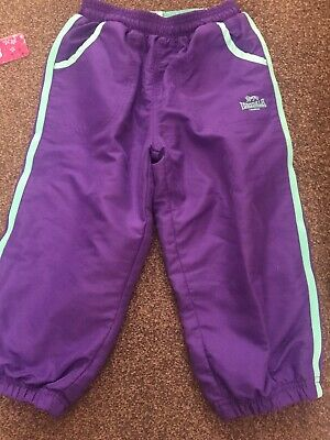 Lonsdale 3/4 Length Jogging Trousers 9-10 Years