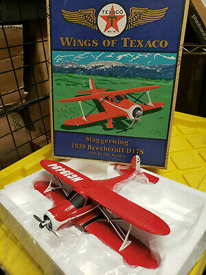 Wings Of Texaco Staggerwing 1939 Beechcraft D17S Replica