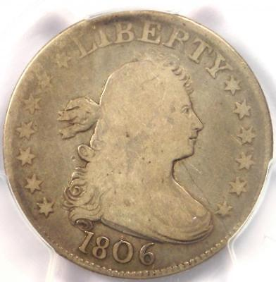 1806 Draped Bust Quarter 25C B-4 - PCGS VG8 - Rare Certified Coin - $700 Value!