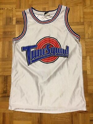 Bugs Bunny Tune Squad 1996 Space Jam Warner Bros Size Small Jersey Silk