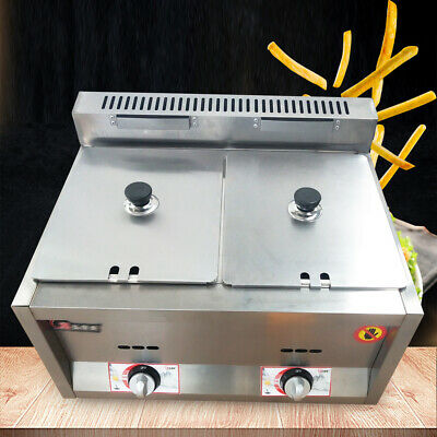 2 Pan Kitchen Food Warmer Fryer Steam Table Commercial Steamer 50 ~ 380°C