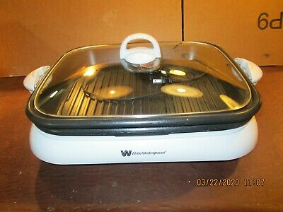 White Westinghouse Electric Skillet/ Grill, Model# Wwtk1