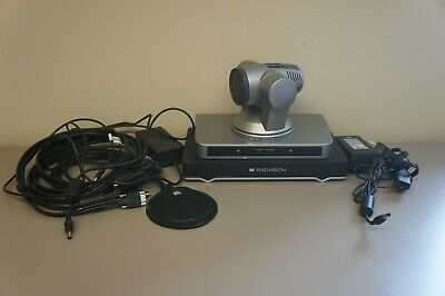 Sony Radvision Video Conference camera Radvison Scopia XT4000 Codec & Microphone