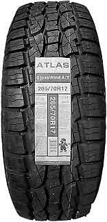 1 NEW 265/70R17 Crosswind A/T Tire 265 70 17 2657017 R17 AT 4 ply All Terrain