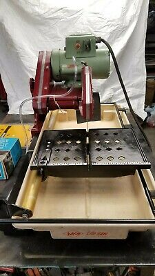 "Diamond MK 101 10"" Wet Tile Saw, Refurbished"