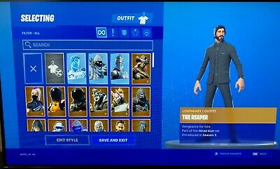 fortnite Season 2 100+skins minty axe PS4 Exclusives