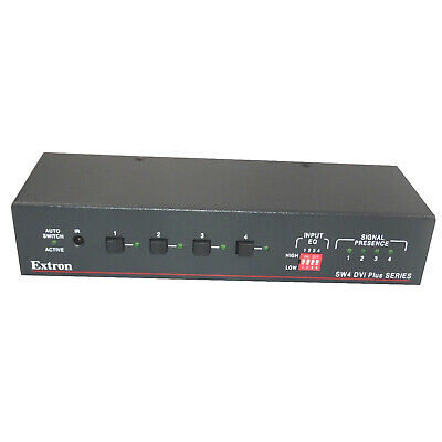 Extron SW4 DVI Plus Series Switcher Hub 4 Input Switcher