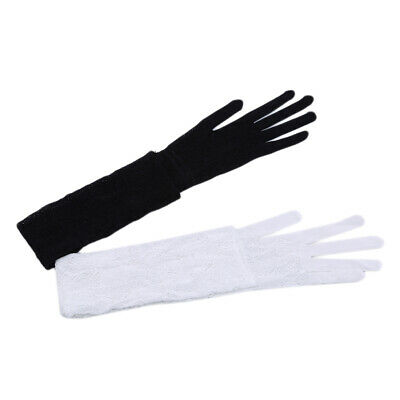 Sunshade Female Sunscreen Gloves Long Breathable Boutique Outdoor Opera Glove N3