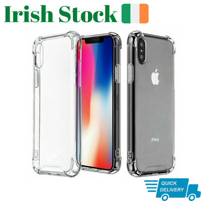 ShockProof Case for iPhone XR XS 11 pro max 7 8  Soft Cover TPU Silicone SE 20
