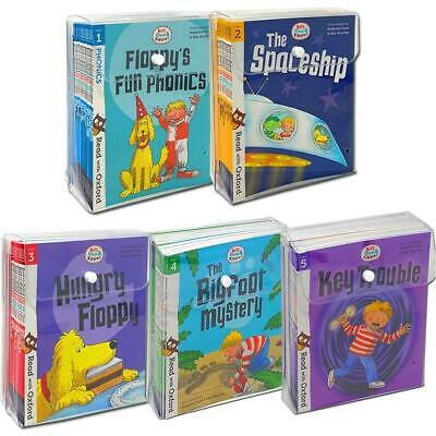 Biff, Chip and Kipper Stage 1-3 Read with Oxford Books Collection Set Pack