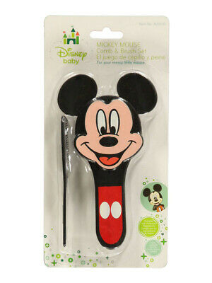 """Disney Mickey Mouse """"Famous Mouse"""" Brush & Comb Set"""